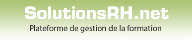 SolutionsRH - gestion de formation