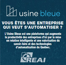 Usine bleu